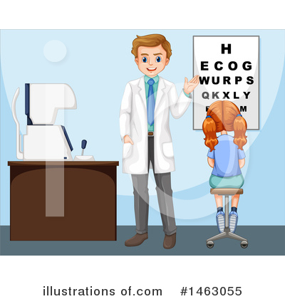 Optometry Clipart #1463055 by Graphics RF