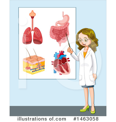 Human Heart Clipart #1463058 by Graphics RF