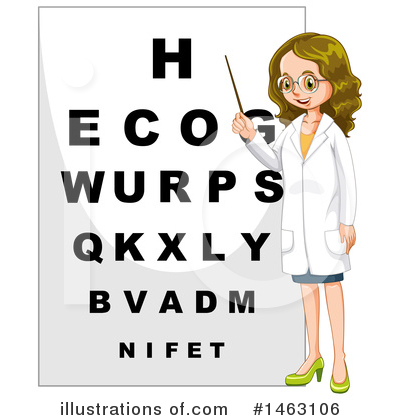 Optometry Clipart #1463106 by Graphics RF