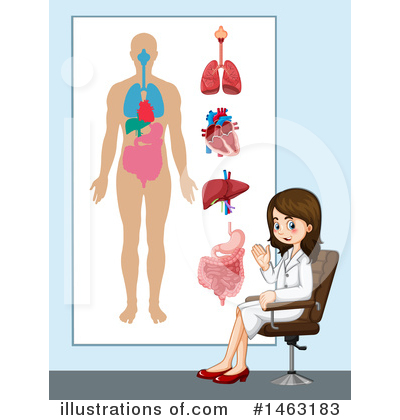 Human Heart Clipart #1463183 by Graphics RF