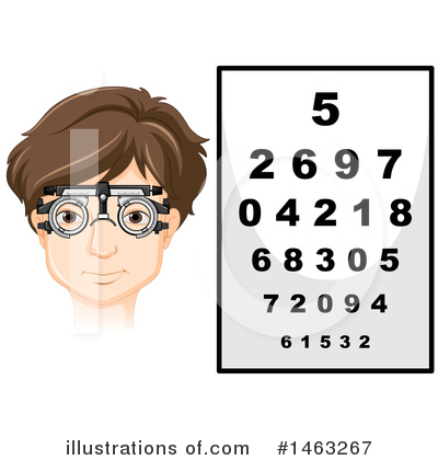 Optometry Clipart #1463267 by Graphics RF