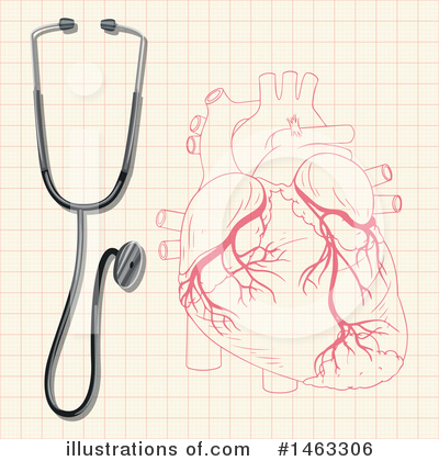 Human Heart Clipart #1463306 by Graphics RF