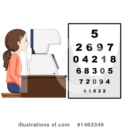 Optometry Clipart #1463349 by Graphics RF