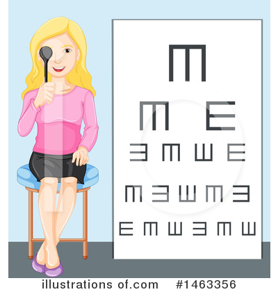 Optometry Clipart #1463356 by Graphics RF