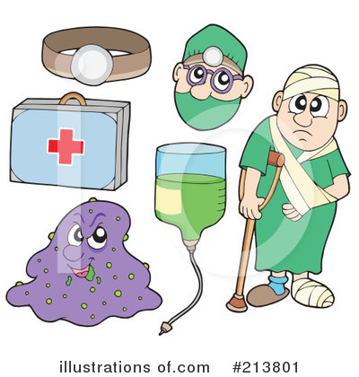 Royalty-Free (RF) Medical Clipart Illustration by visekart - Stock Sample #213801