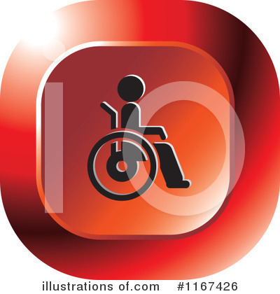 Wheelchair Clipart #1167426 by Lal Perera