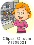 Royalty-Free (RF) Medicine Clipart Illustration #1308021