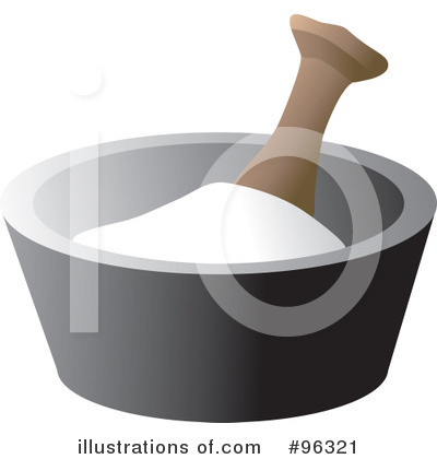 Mortar And Pestle Clipart #96321 by Rasmussen Images