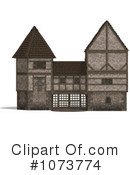 Royalty-Free (RF) Medieval Architecture Clipart Illustration #1073774
