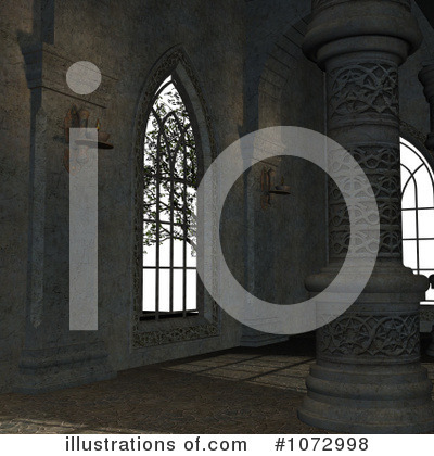 Royalty-Free (RF) Medieval Clipart Illustration by Ralf61 - Stock Sample #1072998