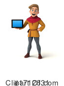 Medieval Man Clipart #1712631 by Julos