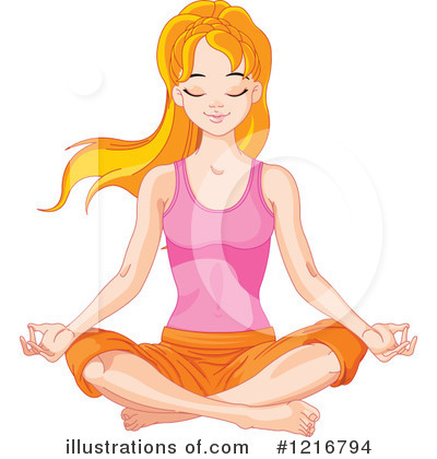 Yoga Clipart #1216794 by Pushkin