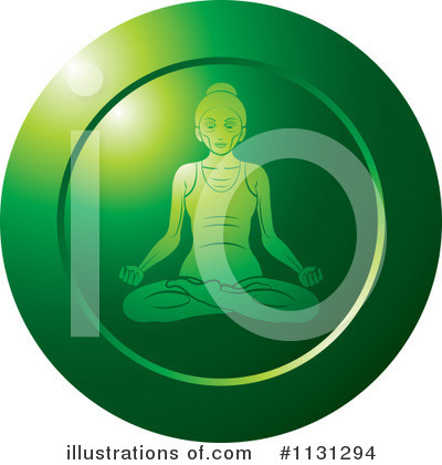 Yoga Clipart #1131294 by Lal Perera