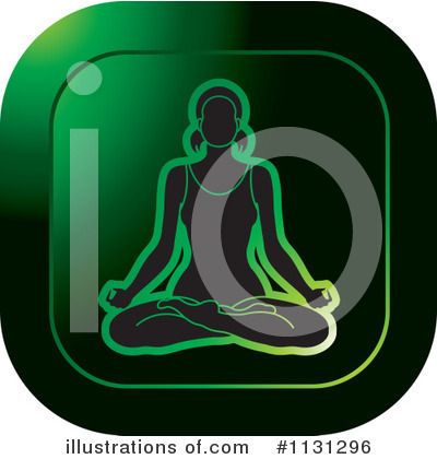 Meditating Clipart #1131296 by Lal Perera