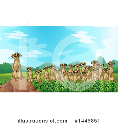 Animals Clipart #1445851 by Graphics RF