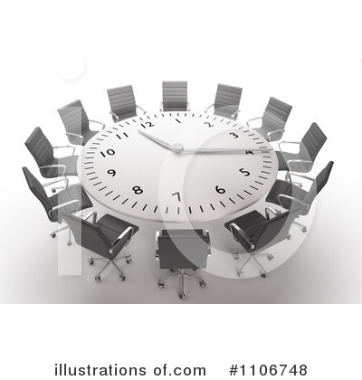 Royalty-Free (RF) Meeting Clipart Illustration by Mopic - Stock Sample #1106748