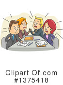 Meeting Clipart #1375418 by BNP Design Studio