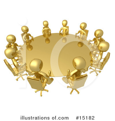 Meeting Clipart #15182 by 3poD