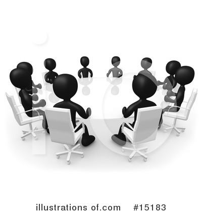 Meeting Clipart #15183 by 3poD