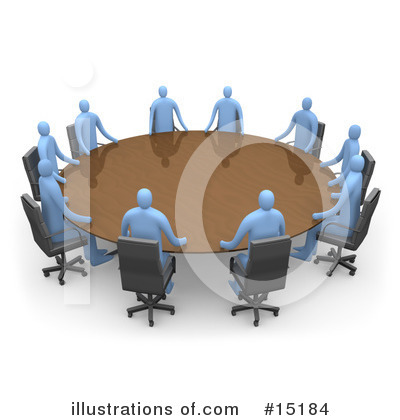 Meeting Clipart #15184 by 3poD