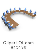 Royalty-Free (RF) Meeting Clipart Illustration #15190