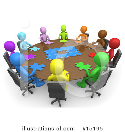 Meeting Clipart #15195 by 3poD