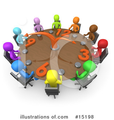 Meeting Clipart #15198 by 3poD