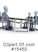 Meeting Clipart #15452 by 3poD