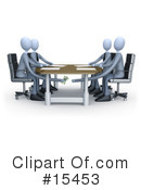 Royalty-Free (RF) Meeting Clipart Illustration #15453