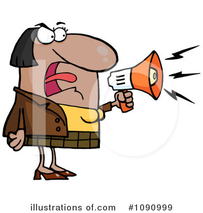 Megaphone Clipart #1090999 by Hit Toon