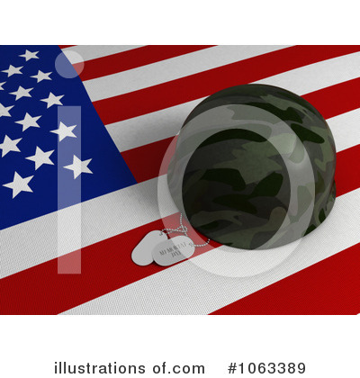 Memorial Day Clipart #1063389 by BNP Design Studio
