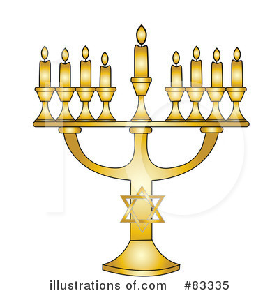 Menorah Clipart #83335 by Pams Clipart