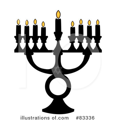 Menorah Clipart #83336 by Pams Clipart