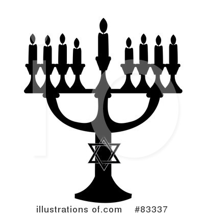Menorah Clipart #83337 by Pams Clipart