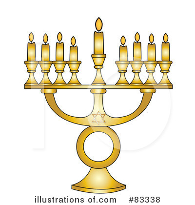 Menorah Clipart #83338 by Pams Clipart