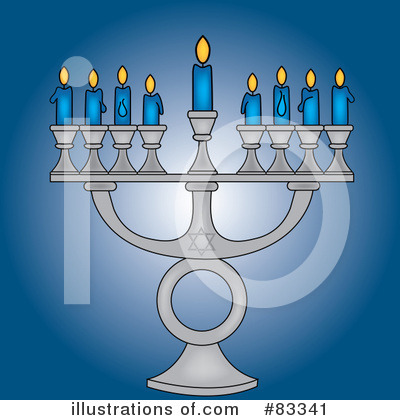 Menorah Clipart #83341 by Pams Clipart