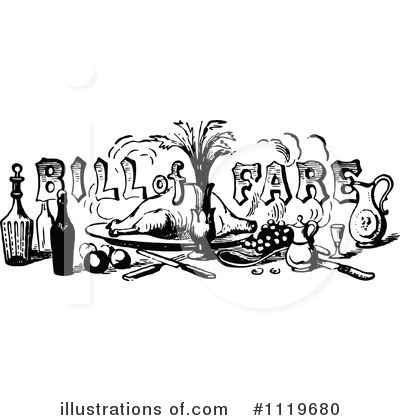 Dining Clipart #1119680 by Prawny Vintage