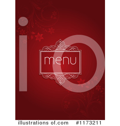 Royalty-Free (RF) Menu Clipart Illustration by KJ Pargeter - Stock Sample #1173211