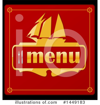 Menu Clipart #1449183 by Domenico Condello