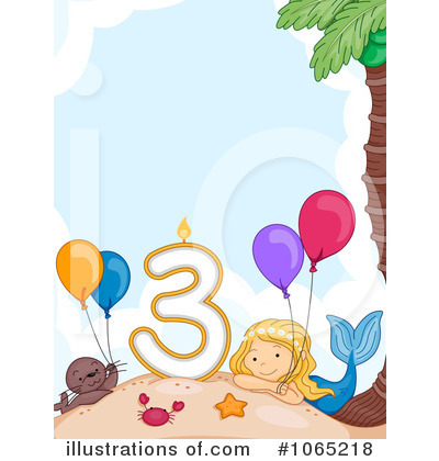 Mermaid Clipart #1065218 by BNP Design Studio
