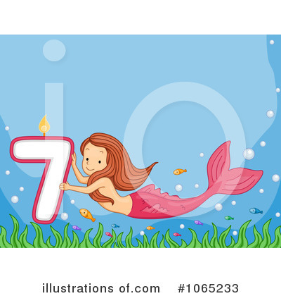 Mermaid Clipart #1065233 by BNP Design Studio