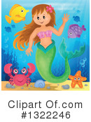 Mermaid Clipart #1322246