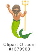 Mermaid Clipart #1379903 by Graphics RF
