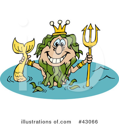 Poseidon Clipart #43066 by Dennis Holmes Designs