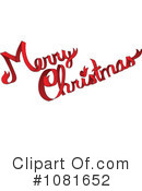 Royalty-Free (RF) Merry Christmas Clipart Illustration #1081652