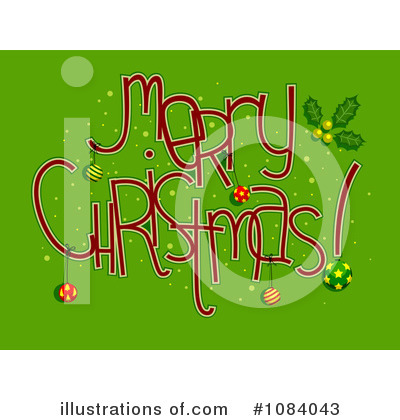 Merry Christmas Clipart #1084043 by BNP Design Studio
