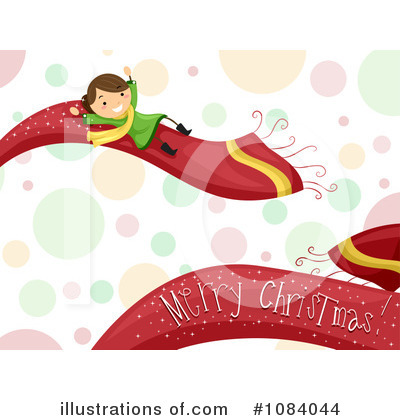 Royalty-Free (RF) Merry Christmas Clipart Illustration by BNP Design Studio - Stock Sample #1084044