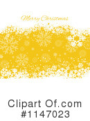 Royalty-Free (RF) Merry Christmas Clipart Illustration #1147023