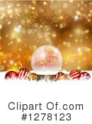 Merry Christmas Clipart #1278123 by KJ Pargeter
