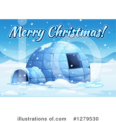 Igloo Clipart #1279530 by Graphics RF